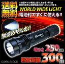 期間限定特価・リチウム電池サービス付【強力照射・CREE LEDハンドライト】CREE 7w