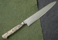 HIRO KNIVES(ヒロナイブズ)カリフォルニアバックアイVG10ダマスカス ペティーナイフ 150mmの画像