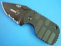 BOKER(ボーカー)01BO586 BOP586SUBCOM FOLDERカード型ナイフフォールディングナイフの画像