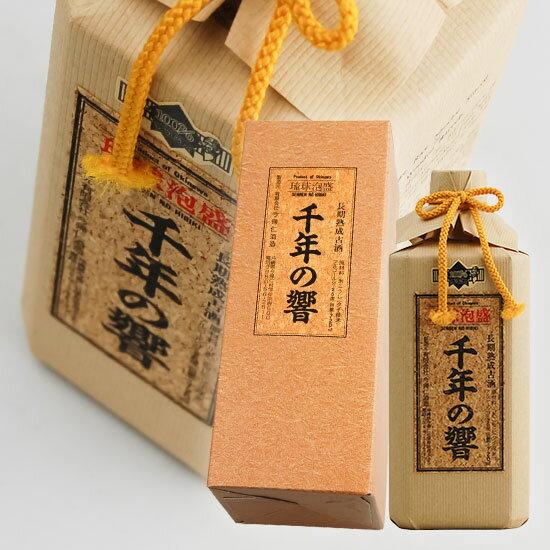 【今帰仁酒造所】 千年の響 長期熟成古酒 泡盛2...の商品画像