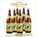 【白玉醸造】 芋焼酎 白玉の露 1.8L 6本セット 【送料無料】