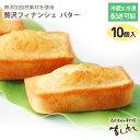 有機JAS認定北海道産小麦と焦がしバターたっぷり!しっとりフィナンシェ プレーン(10