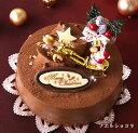 早期予約特典!12/5までのご予約ならクーポン利用で200円OFF!ソフトなチョコ生クリームケーキ『ノエル・ショコラ』5号 クリスマスケーキ 2016【限定】【予約】チョコレートケーキ