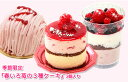 期間限定『苺の3種ケーキ』3個入北海道スイーツ 春のお祝い 内祝い 母の日贈り物に