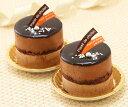 リッチな味わい♪チョコケーキ『とろける生ショコラ』2個入チョコレートケーキ クーベルチュール ランキングお取り寄せ