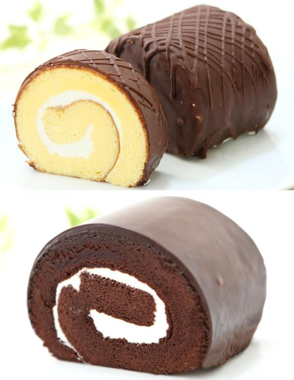 ミニミニロール(チョコ&チョコ)二種類の味が一...の紹介画像3