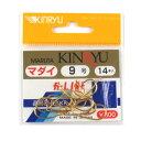 藤原辰次商店(KINRYU) マダイ 9号 金【ゆうパケット】