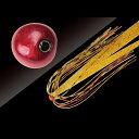 ジャッカル(JACKALL) タングステン鯛カブラ ビンビン玉 スライド 120g レッドレッド/エビオレゴールド