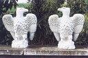 【イタリア製 彫刻】海辺の鷲(右)