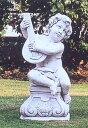 石像 イタリア製 子供像(ガーデン オーナメント) 子供の楽団(ティエーポロ) DECOR GARDEN