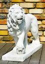 イタリア製動物石像(ガーデンオーナメント) ドッカーレ宮のライオン(左) (1体での販売) Art.602 PapiniAgostino
