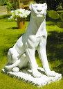 イタリア製動物像(ガーデン オーナメント) パンテラ(ヒョウ) ITALGARDEN Cod.07 5142 パンサー イタルガーデン社 置物