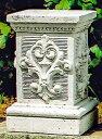 イタリア製石像 台座 モンテマリオ 飾り台 コラム ITALGARDEN イタルガーデン社