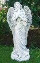 イタリア製ビーナス像(ガーデン オーナメント) 祈り(大) PU2099 石像 女性像 天使像 エンジェル