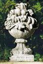 イタリア製石像(ガーデン オーナメント) フルーツ飾り(大) ITALGARDEN TE0360 ガーデンアクセサリー イタルガーデン社
