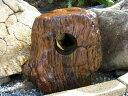 木化石 035庭石 珪化木 景石道しるべ