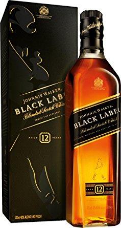 ジョニーウォーカーブラック黒ラベル40度700ml正規品 箱付き