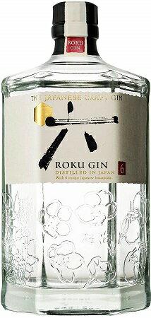 六「ROKU (ロク)」700ml 47度【ジャパニーズクラフトジン】【大阪府】【限定品】
