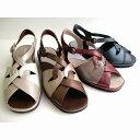 [アシックス ペダラ]【履くほどに愛着が湧く、手放せない1足になりそう。】asics Pedala WPL880 レディース 革靴 サンダル 仕事履き ビジネスシューズ Pブラック・ブロンズ・Pパープル ・プラチナ