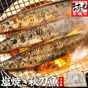 秋刀魚の塩焼き 約1kg(良型9尾〜10尾入り) 台湾産 送料無料[さんま/サンマ]