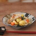 【和食器】■黒点変形皿(中)■取り皿・煮物皿・フルーツ皿等に使える大きさ・・・