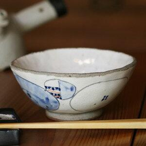 ■粉引き赤絵ご飯茶碗■茶碗 ご飯 ちゃわん 美味...の商品画像