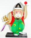 会津張子・野沢民芸 首ふり招福三番叟(さんばそう) 大サイズ申 猿 さる年人形 置物 縁起物 干支飾り ギフト 贈リ物 祝 お祝い 記念品
