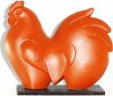 常滑焼 朱泥モダン A-18酉 鳥 とり年人形 置物 縁起物 干支飾り ギフト 贈リ物 祝 お祝い 記念品