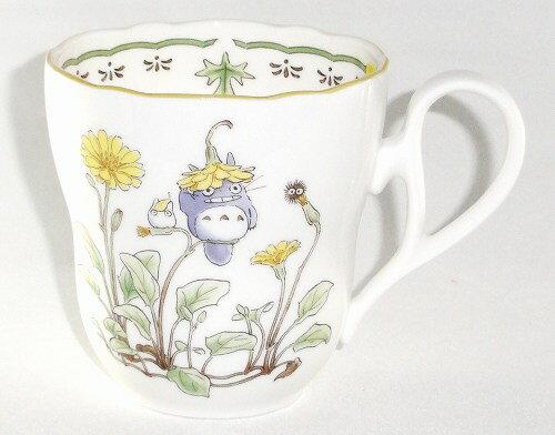 ノリタケ<Noritake>かわいいトトロ(トトロ花帽子)マグカップ(4924-7)プレゼント ギフト 贈リ物 祝 お祝い 記念品 食器 セット 可愛い 引き出物 引出物 内祝い お返し 出産内祝い 快気祝い