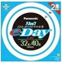 パナソニック 32形+40形丸型蛍光灯・昼光色 パルックe-Day FCL3240EXDE2TF /  パナソニック
