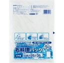 (送料無料)(まとめ買い・ケース販売)お料理パック 半透明 HD (40枚入)(50個セット)/ ワタナベ工業
