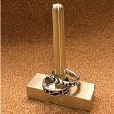 ショッピングマスキングテープ アクセサリースタンド BARタイプ 1ヶ  ≪アクセサリー 指輪 スタンド 真鍮 マスキングテープ ≫