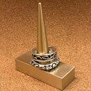 ショッピングマスキングテープ 新発売!!!アクセサリースタンド CONEタイプ 1ヶ  ≪アクセサリー 指輪 スタンド 真鍮 マスキングテープ ≫