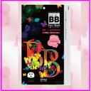 BBフェイスマスク(10枚入)BBクリームで大ヒット中  BBフェイスマスク(10枚入) 韓国で大流行のBBシリーズにフェイスマスク登場!美容液の限界使用量までマスクに浸透☆