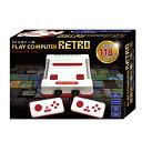 プレイコンピューターレトロ FC互換ゲーム機 内蔵ゲーム118種 懐かしの ファミコンゲーム で遊べる ファミコン互換機 AV出力対応