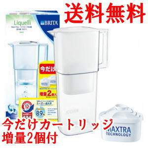 One cartridge for ブリタポット type water purifier マクストラリクエリ 1.1L+ exchange