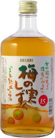 Liqueur 15% Deluxe plum fruit shizuku 720 mL