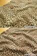 ショッピングレオパード 【1mカット】 ◆◇レオパード◇◆≪スムースニット≫