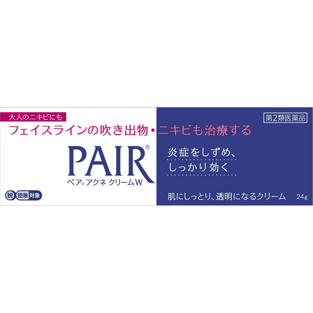 【第2類医薬品】ライオン ペアアクネクリームW 24g