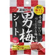ノーベル製菓 男梅 シート 27g