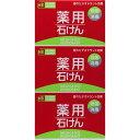 熊野油脂 薬用石けん 100g×3