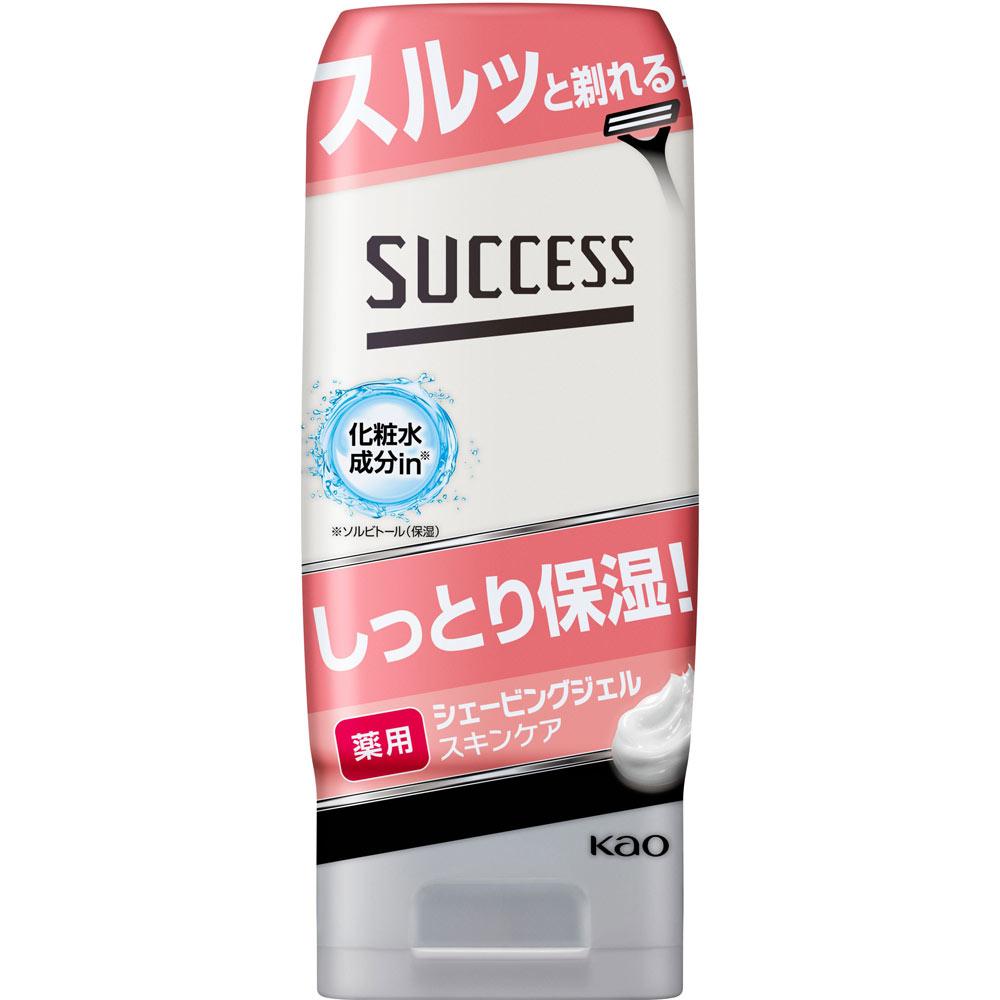 花王 サクセス 薬用シェービングジェル スキンケアタイプ 180g (医薬部外品)
