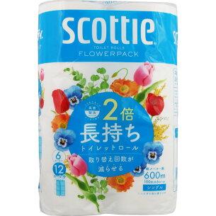 日本製紙 クレシア スコッティ フラワー シングル