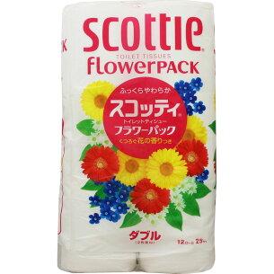 日本製紙 クレシア スコッティ フラワー