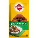 マ-スジヤパンリミテッド ペディグリー パウチ スープタイプ 成犬用 ビーフ&緑黄色野菜 130g