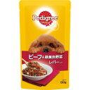 マ-スジヤパンリミテッド ペディグリー パウチ スープタイプ 成犬用 ビーフ&緑黄色野菜 レバー入り 130g