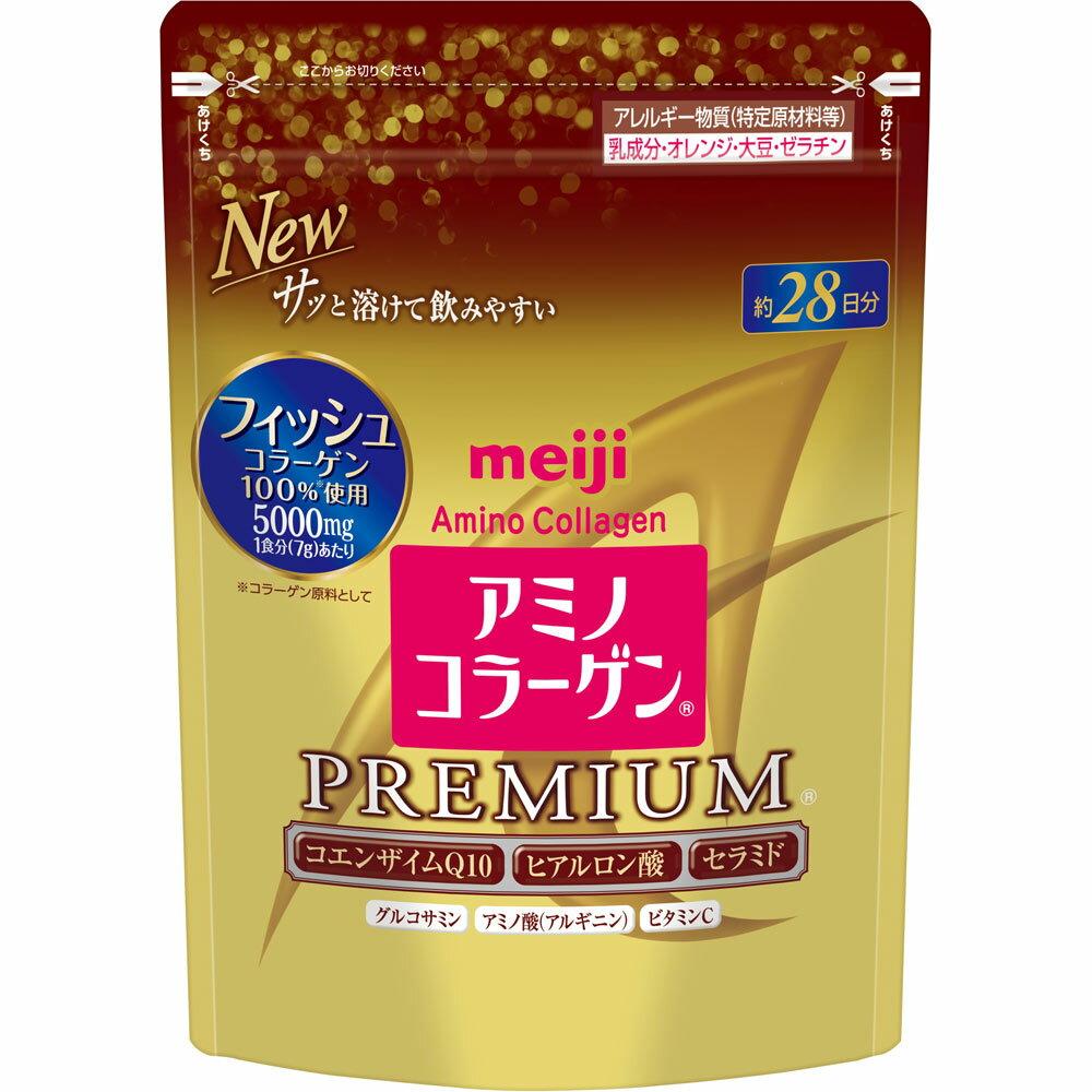 Meiji明治金装替换装胶原蛋白粉214g