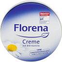 アイテム フロレナ クリーム缶 カモミール 150ML
