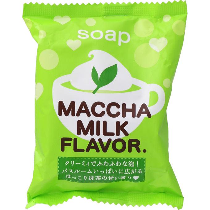 ペリカン石鹸 抹茶みるくソープS1個入 _の商品画像