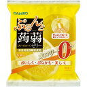 オリヒロプランデュ ぷるんと蒟蒻ゼリーパウチ 0kcal グレープフルーツ 18g×6個